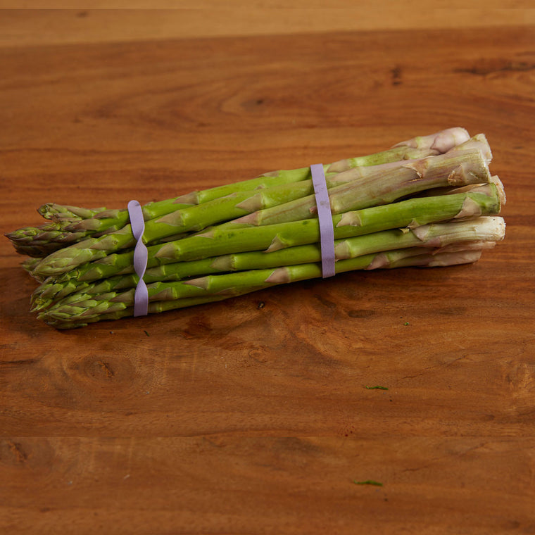 Local grown Lancashire Asparagus