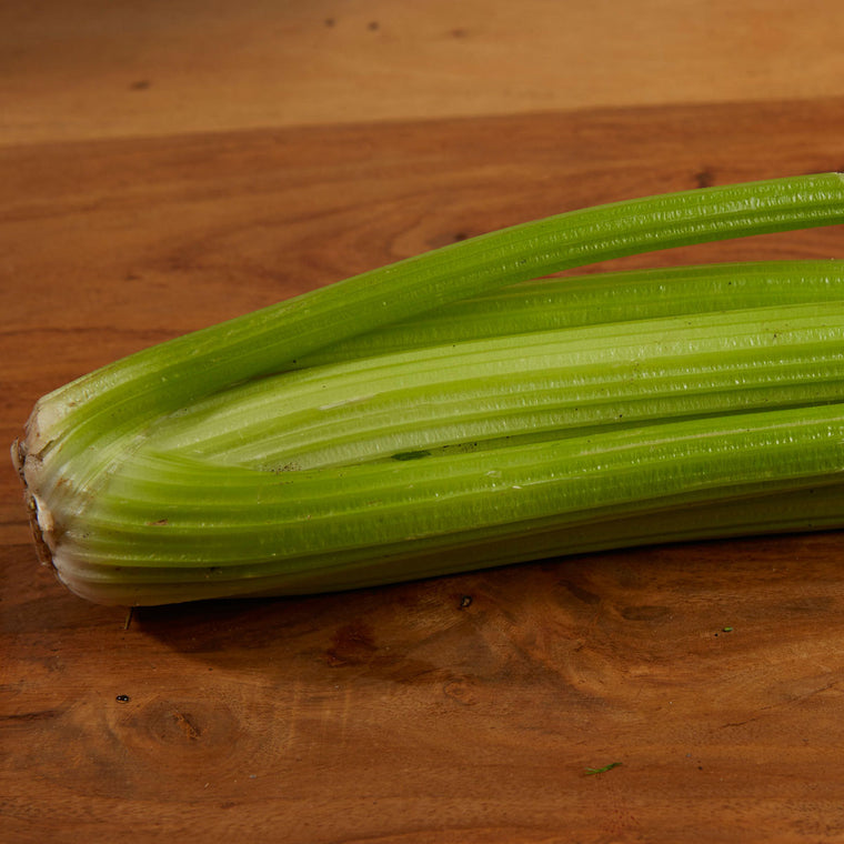 Local celery grown in Halsall, Ormskirk, Lancashire