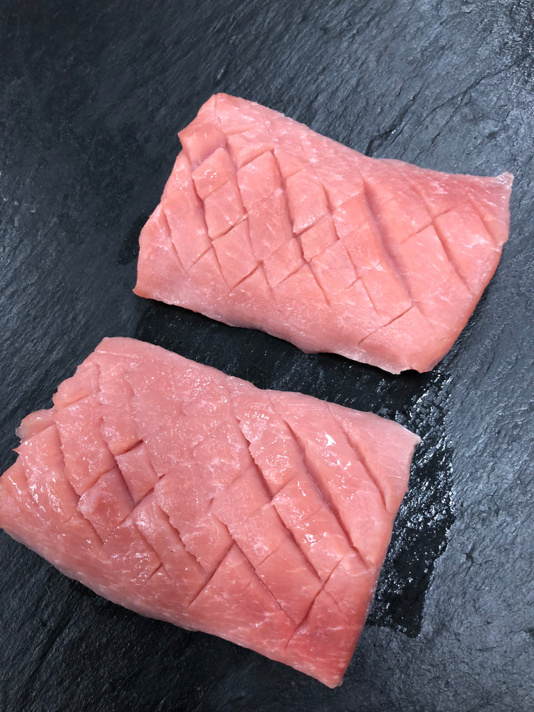 Pork Flat Iron Steaks 8oz x 2