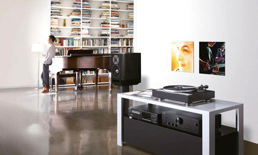 Onkyo CP1050 Turntable - Lifestyle shot | SAVI Systems Perth