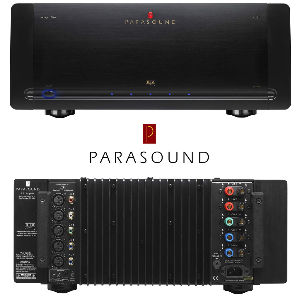 SAVI Systems Perth - PARASOUND Halo A51 THX Ultra2 five channel stereo power amplifier