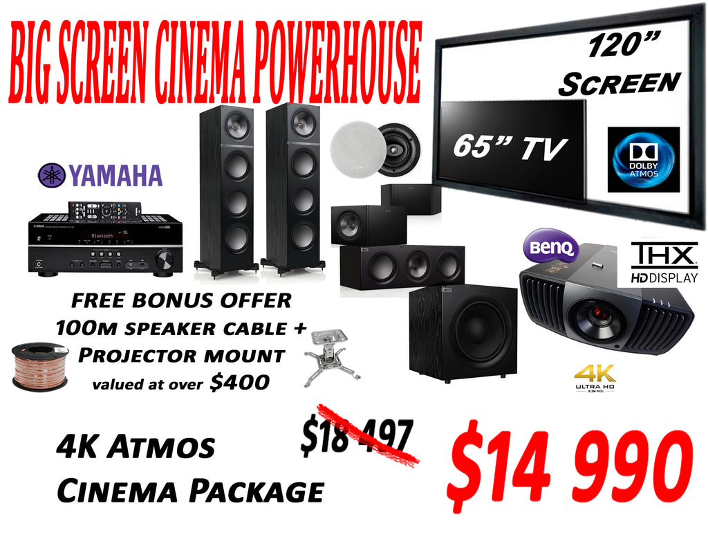 SAVi Systems Perth - THX 4K Atmos Home Theatre