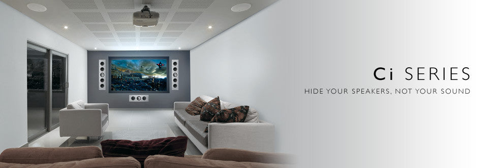 SAVI Systems Perth - KEF Ci series in wall speakers