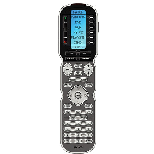 URC Complete Control Text-Based Handheld Remote (MX-900i)