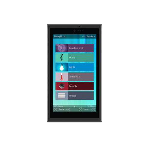 "URC 5"" In-Wall Touchscreen Keypad"