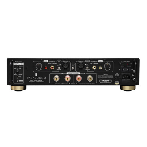 Parasound A23+ Halo Stereo Power Amplifier