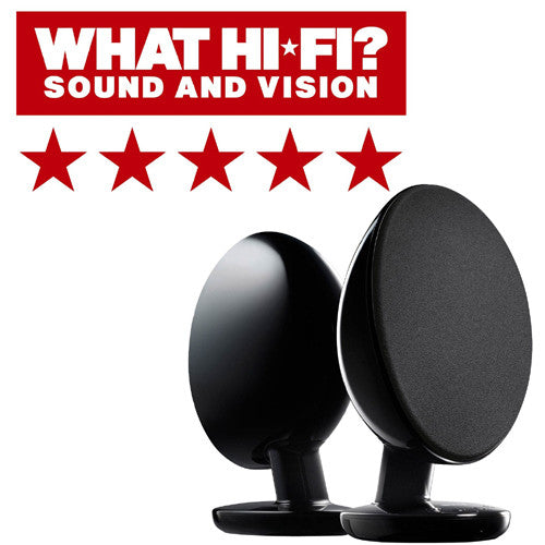 KEF Egg Active Wireless Hi-Fi Speakers (Black) - SAVI Systems Perth