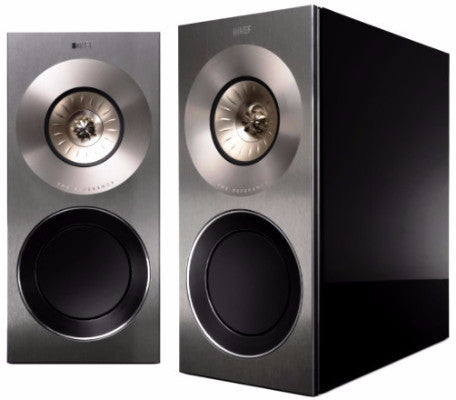 KEF Reference 1 Audiophile Hi-Fi / Ultimate Home Cinema Bookshelf Speakers (Black) | SAVI Systems Perth,kef perth, kef speakers, kef home theatre, home theatre perth, home cinema perth, speakers,