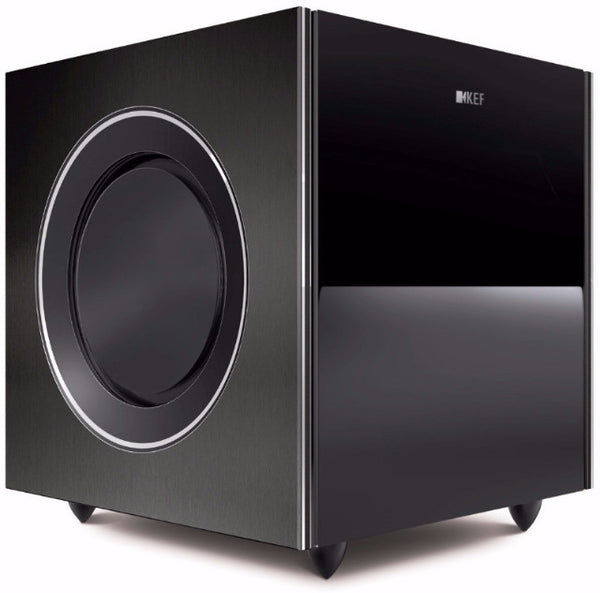 KEF Reference 8b Subwoofer - 1000w  (Black) | SAVI Systems Perth