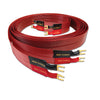 nordost, nordost cables, cables, red dawn, red dawn speaker cable, speaker cable, banana plugs