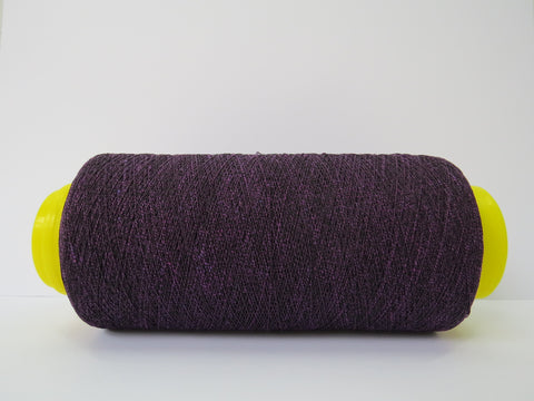 Ester Cotton Yarn - Black & Iris