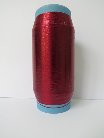 Unsupported Transparent Lurex - Red