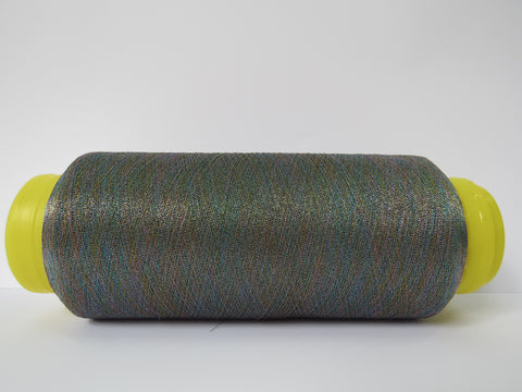 Rainbow Lurex Twist Yarn - Multicolour