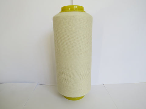 Wool/Lycra Yarn - Ecru