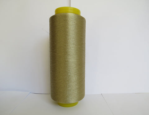 Steel Twist Yarn - Pale Gold