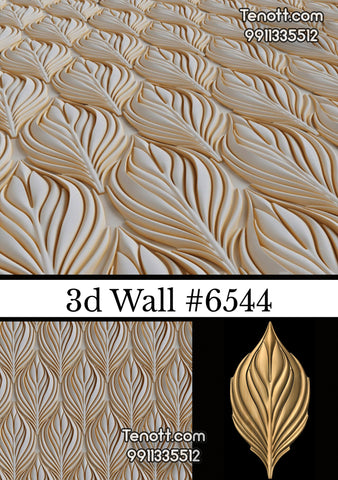 3D Wall Tile WT-6544