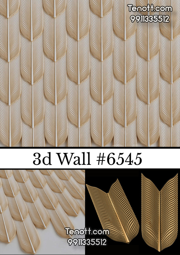 3D Wall Tile WT-6545