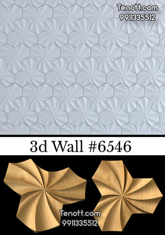 3D Wall Tile WT-6546