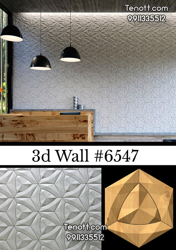 3D Wall Tile WT-6547