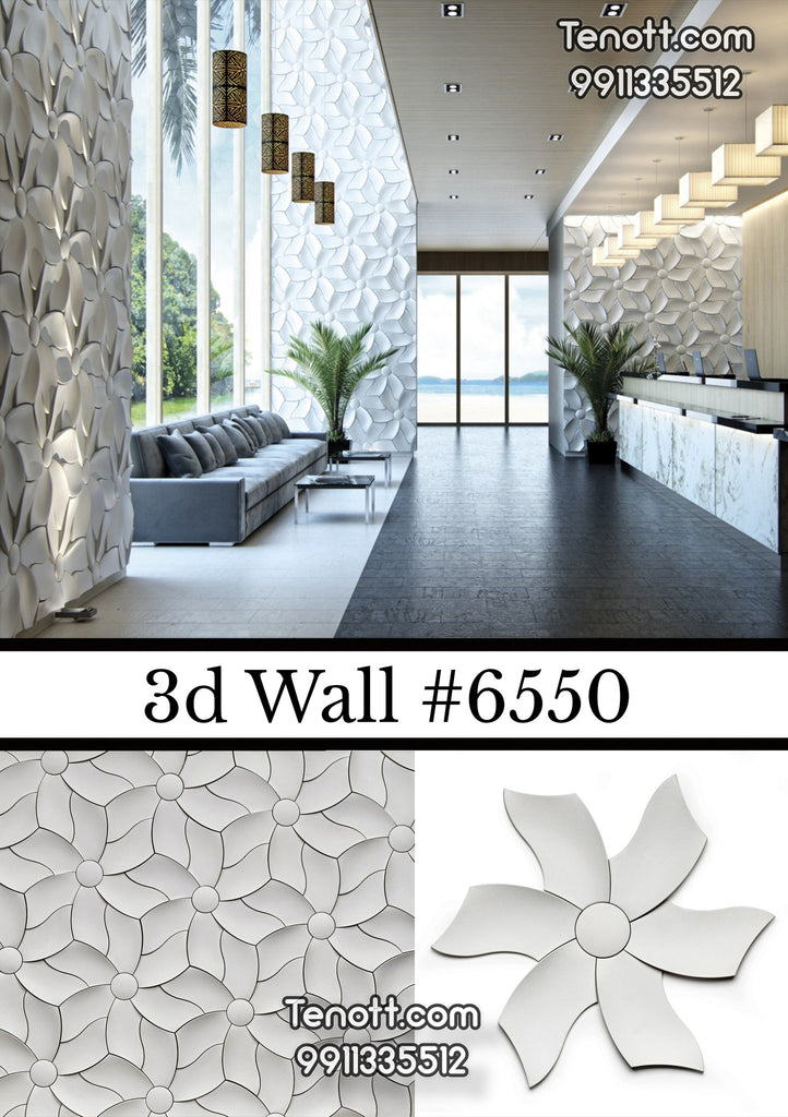 3D Wall Tile WT-6550