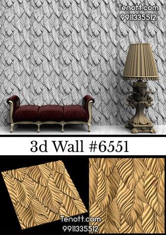 3D Wall Tile WT-6551