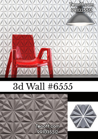 3D Wall Tile WT-6555