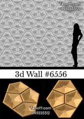 3D Wall Tile WT-6556