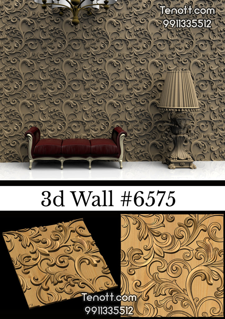 3D Wall Tile WT-6575