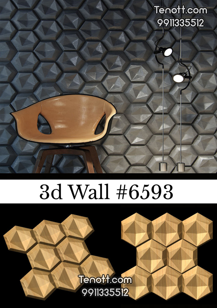 3D Wall Tile WT-6593