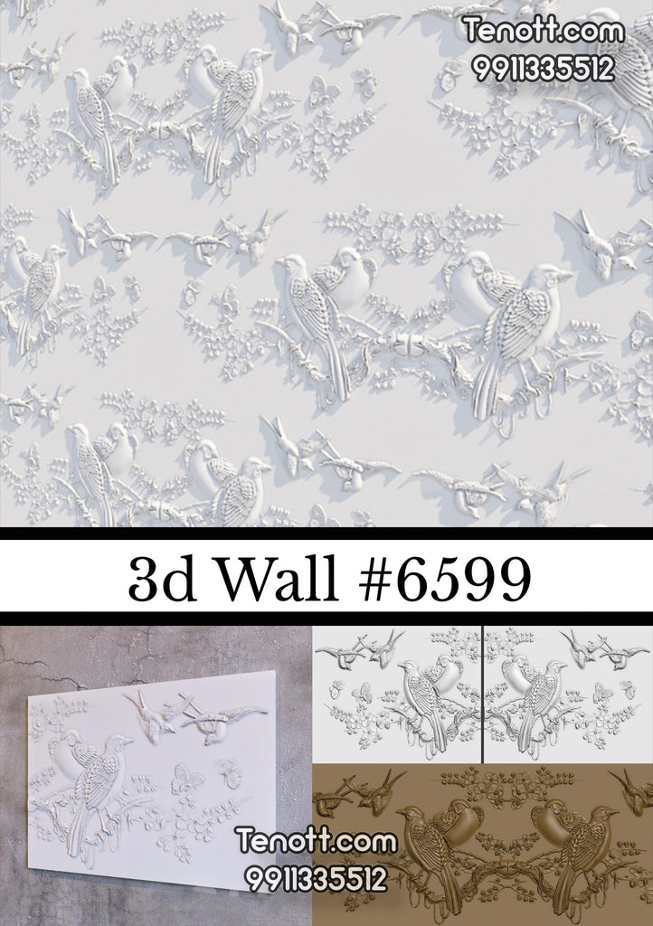 3D Wall Tile WT-6599