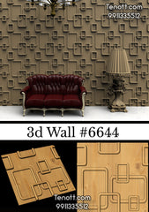 3D Wall Tile WT-6644