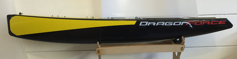DF65 Half Length Hull & Deck Sticker With Sail Number on Deck Sticker V1 - V5