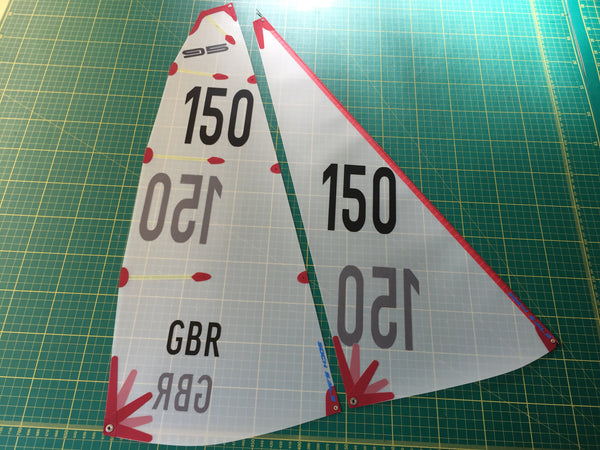 Df95 C Suit With Numbers Applied Soch Sails