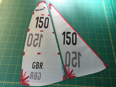 DF95 C Suit with numbers applied