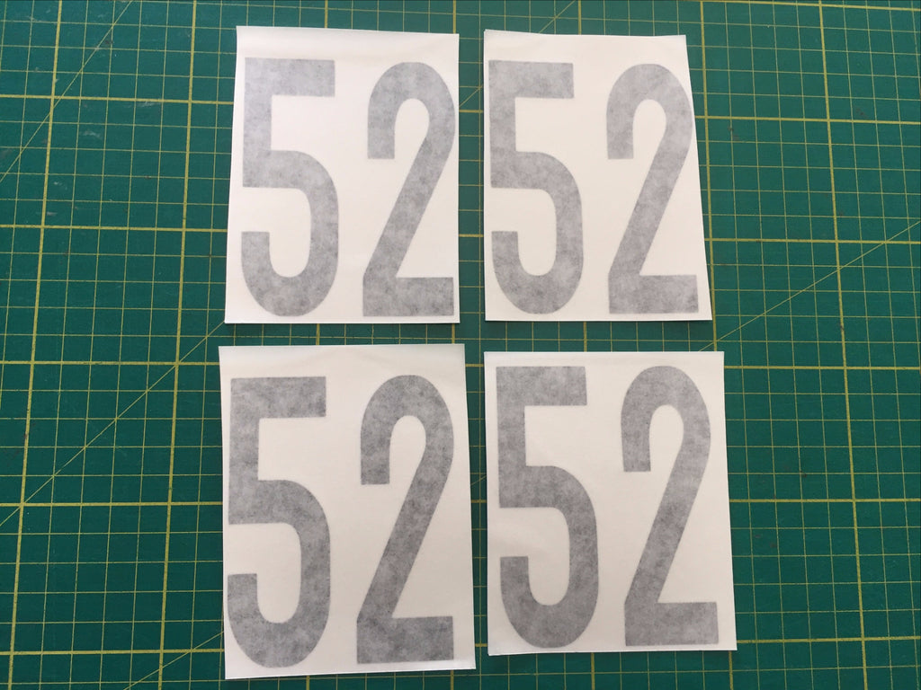 DF95 Sail Numbers