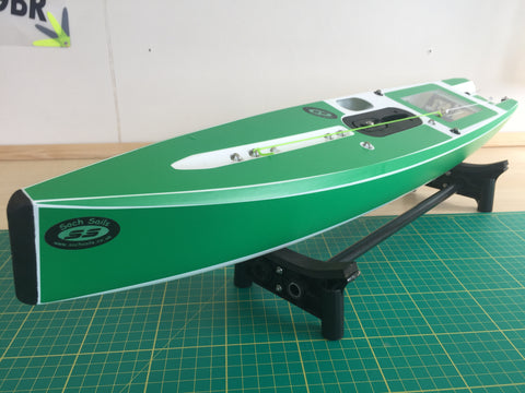Version 6 DF65 Hull & Deck Sticker Set Plain
