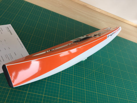 Version 6 DF65 Half Length Hull & Deck Sticker Set