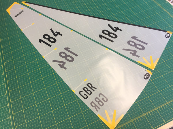 Df65 A Suit With Numbers Applied Soch Sails