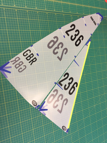 DF65 B Suit with numbers applied