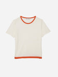 EASTON T-SHIRT IN ORANGE-YOU-GLAD