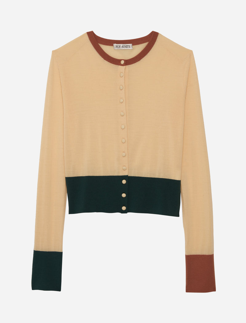 ETIENNE CARDIGAN IN THE-SPICE