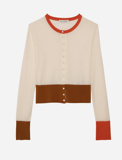 ETIENNE CARDIGAN IN ORANGE-YOU-GLAD