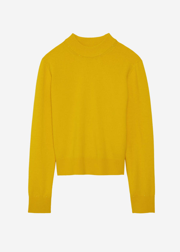 The 'Delilo' Mockneck in Limone
