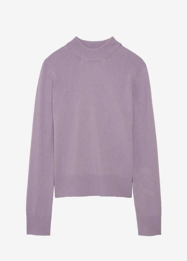 The 'Delilo' Mockneck in Lavender