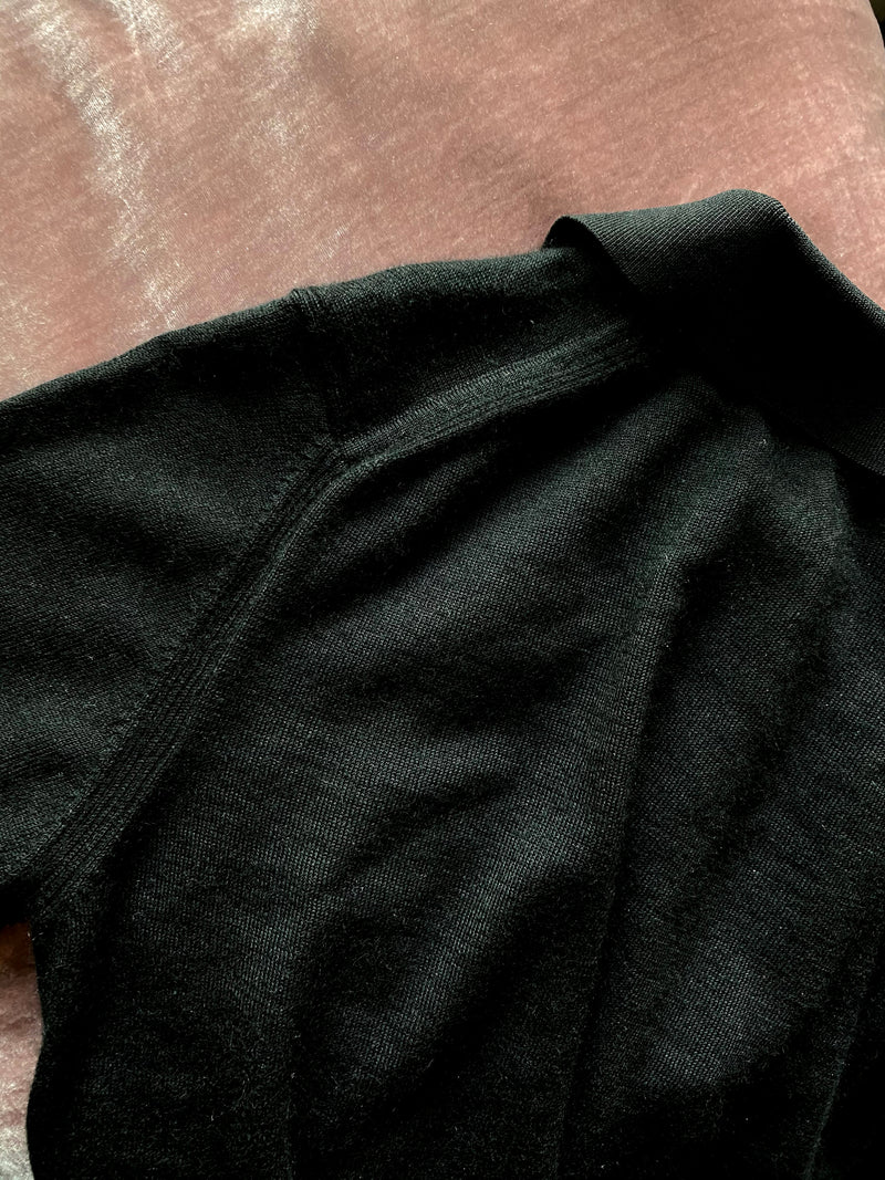GARÇON RELAXING SHIRT IN BLACK