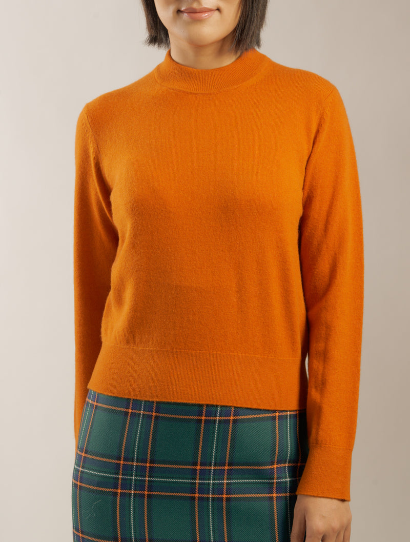 The 'Delilo' Mockneck in Persimmon