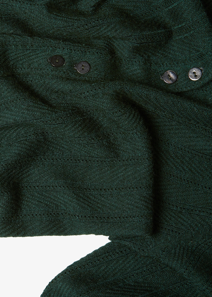 Carver Cardigan in Racing Green