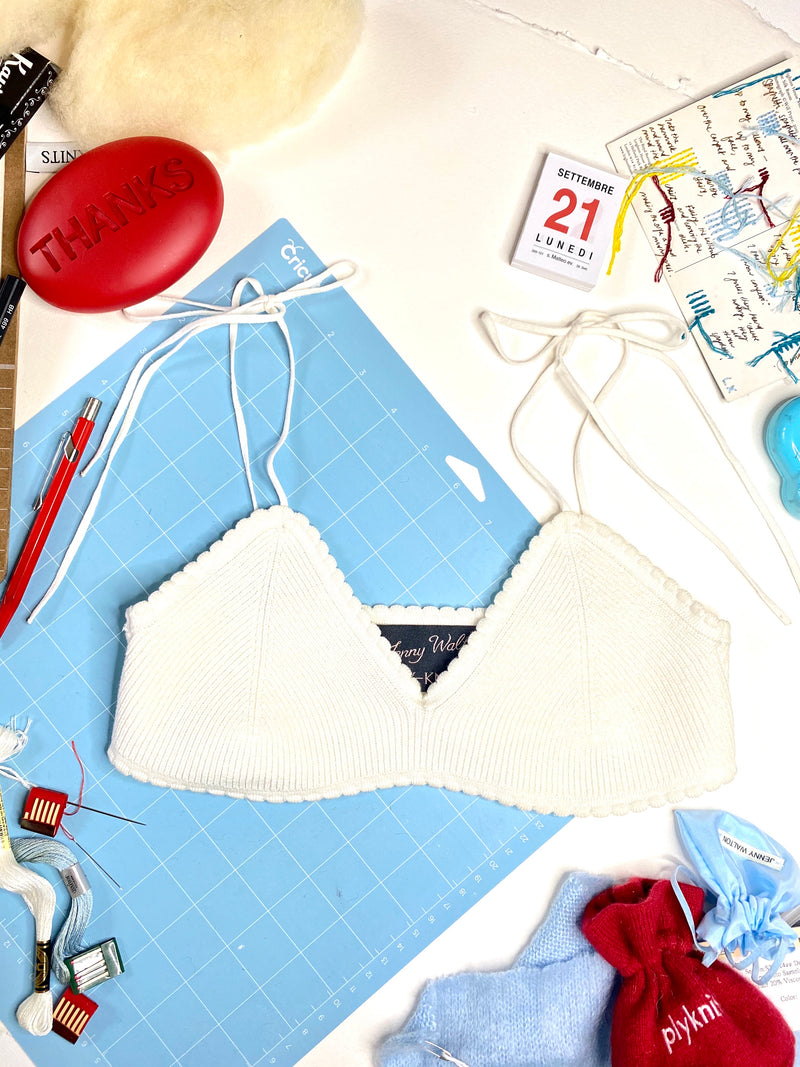 Jenny Scalloped Bralette in Oat-or-Almond-Milk-Please
