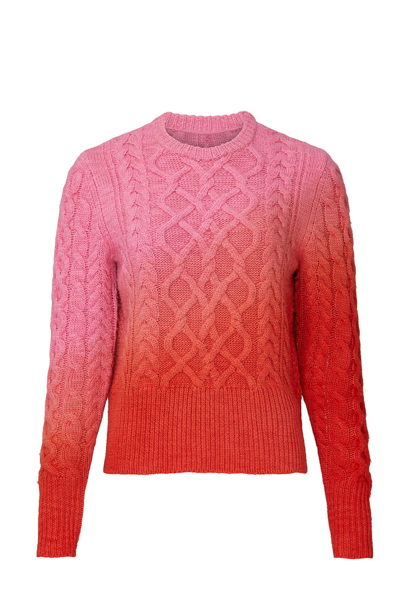 FRIDA PAINT SWEATER IN SEEING-RED