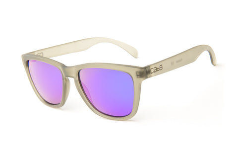 Smoke - Purple Revo - Cab9 Eyewear - 1